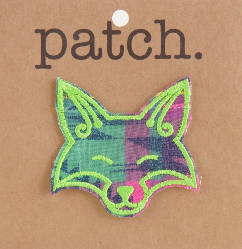 Fox Fabric Patch