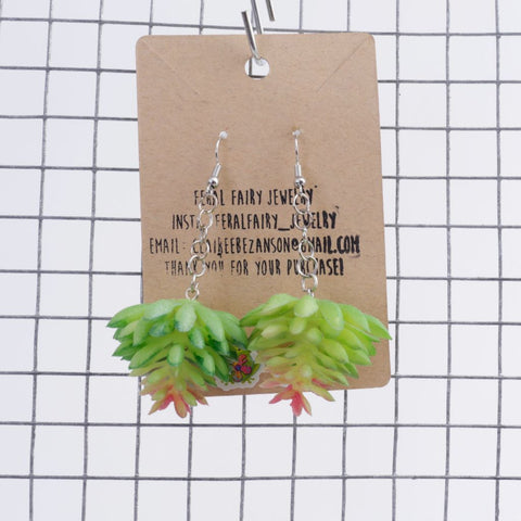 Plant earrings