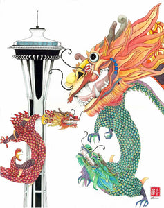 The Year of the Dragon Fine Art Print