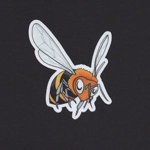 Bee in Flight Sticker