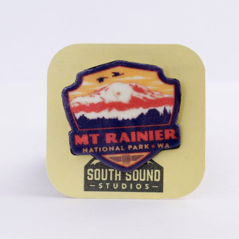 Mount Rainer Brooch/Pin