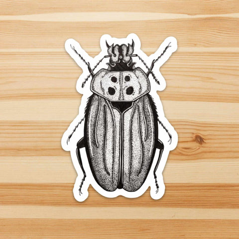 Beetle Distraction Sticker