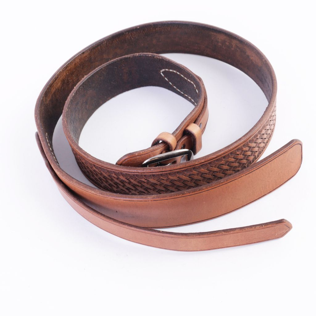 Sheridan Brown Ranger Leather Belt