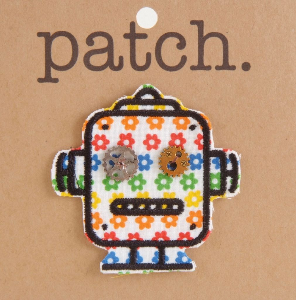 Robot Fabric Patch