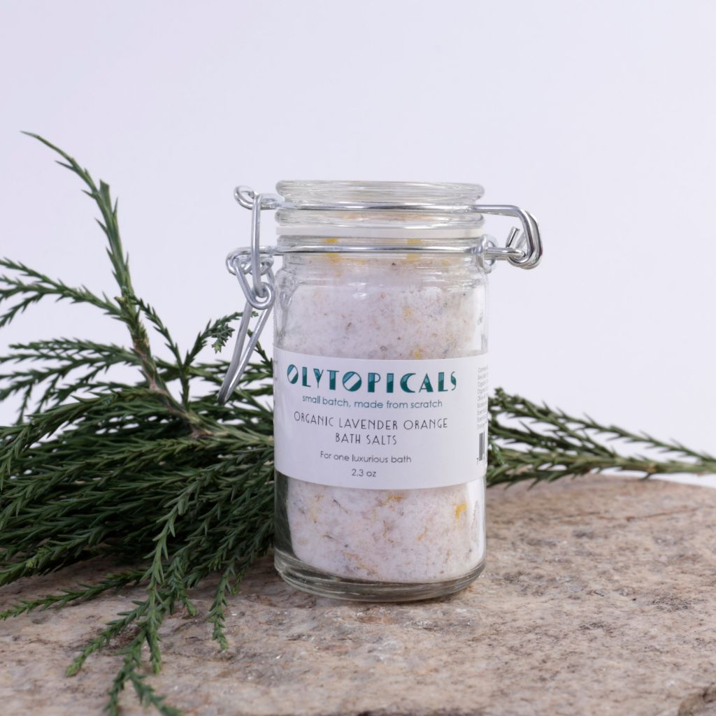 Lavender Orange Bath Salts