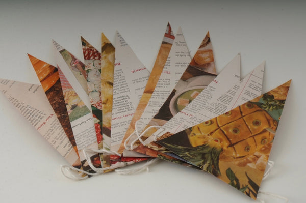 Cookbook Bunting