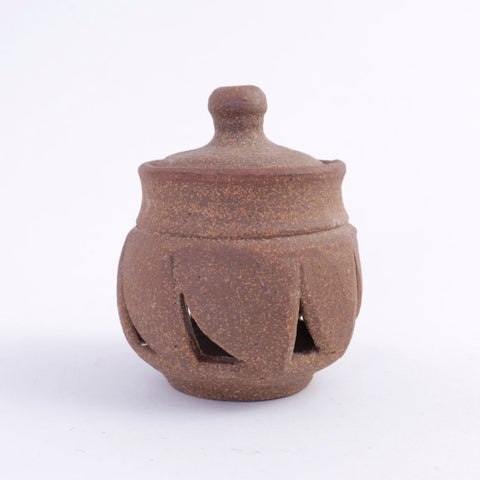 Bare Clay Ceramic Garlic Pot