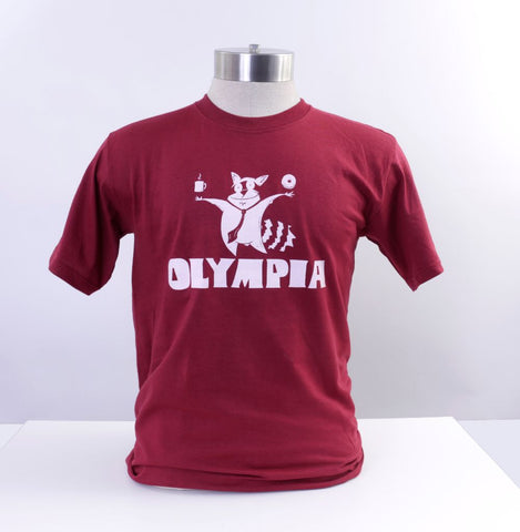 Olympia Raccoon T-shirt Red