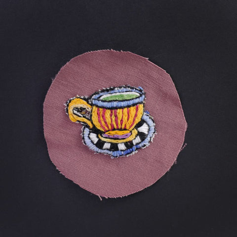 Psychedelic Teacup Patch