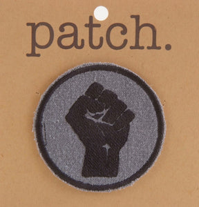 Fabric Patch Power Fist
