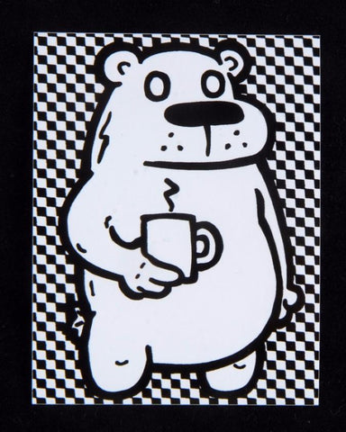 Coffee Bear Sticker