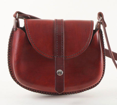 Bordeaux Leather Purse