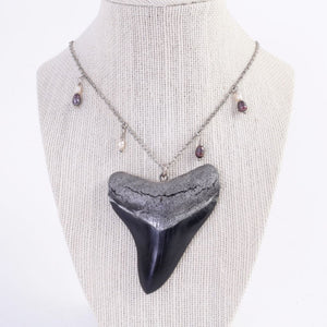 Resin Megalodon Necklace