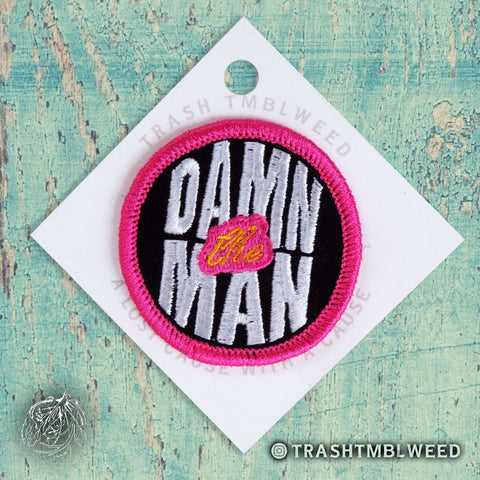 Damn the Man Patch
