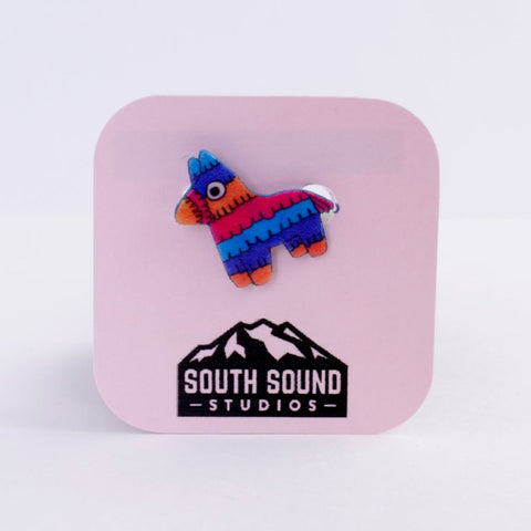 Multi Color Pinata Pin/Brooch