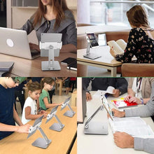 Load image into Gallery viewer, Business Kiosk Aluminum Tablet Stand