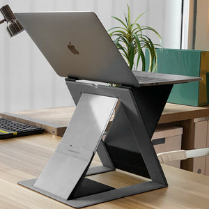 4-in-1 Invisible Sit-stand Laptop Desk