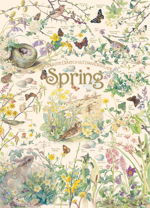 Country Diary of an Edwardian Lady - Spring, 1000 piece puzzle