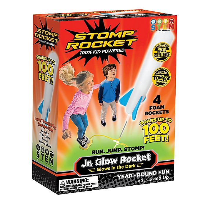 Stomp Rocket - Jr Glow Rocket