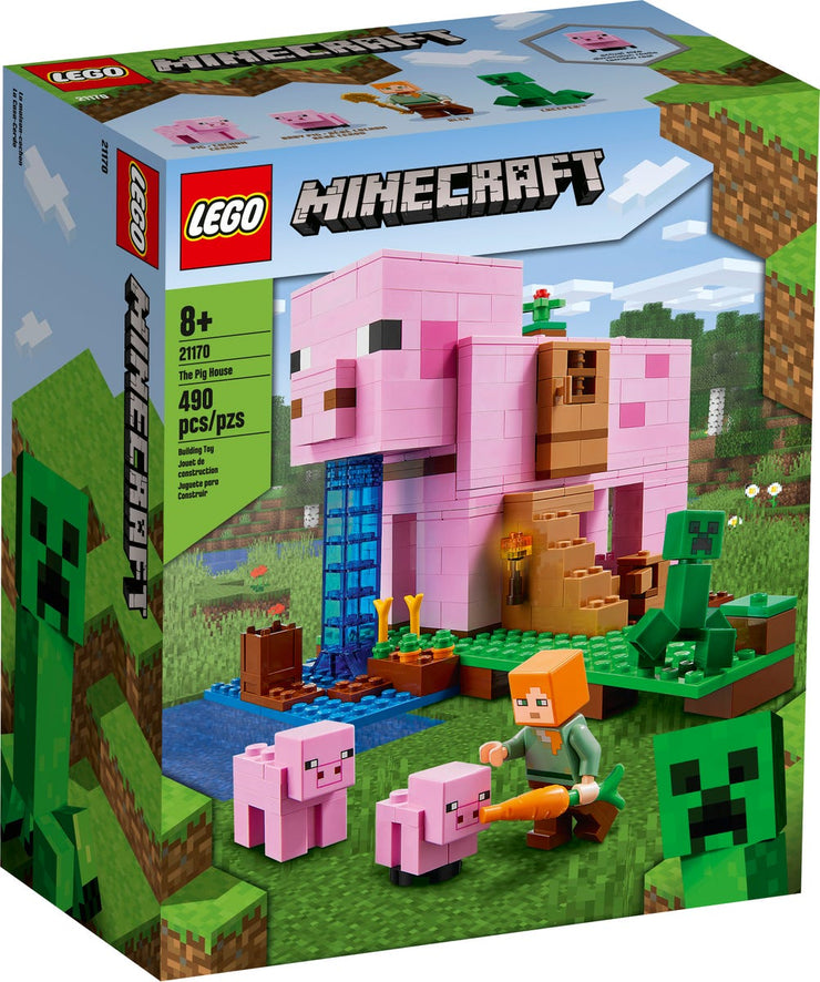 LEGO- Minecraft- The Pig House