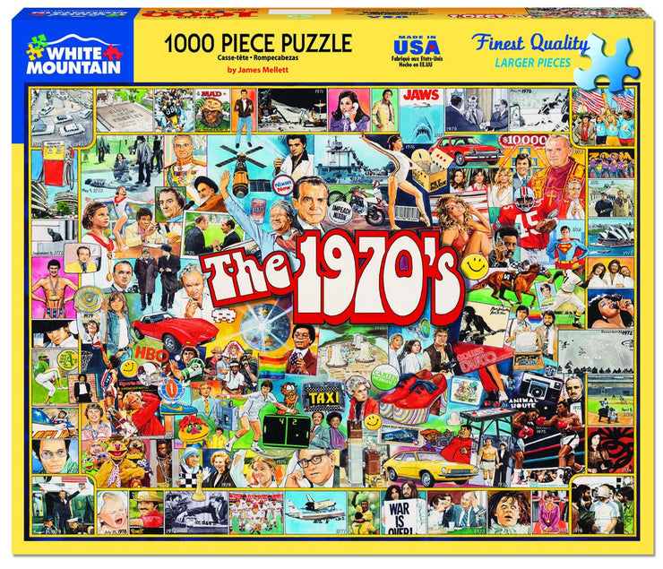 The 1970s - 1000 pieces