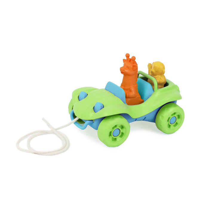 Green Dune Buggy Pull Toy
