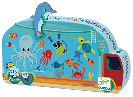 The Aquarium Puzzle - 16 pieces