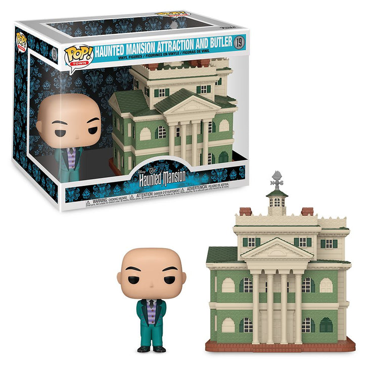 Pop Town - Disney Haunted Mansion w/Butler