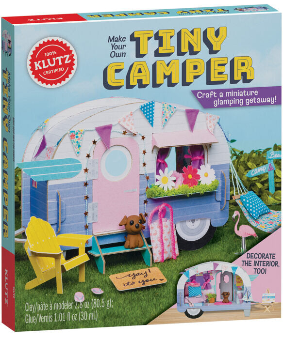 Make Your Own Tiny Camper by Klutz