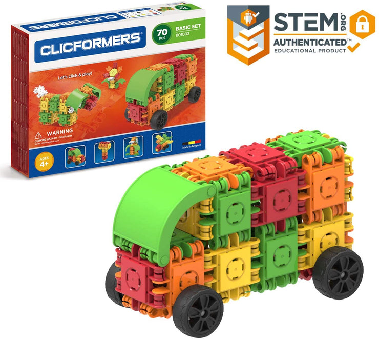 Clicformers Basic Set 70 Pcs