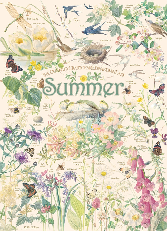 Country Diary of an Edwardian Lady - Summer, 1000 piece puzzle