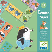 Animals Domino Game