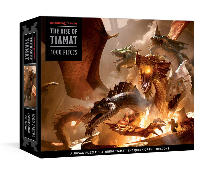 Dungeons & Dragons: The Rise of Tiamat, 1000 piece puzzle