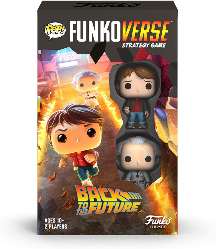 Funkoverse Strategy Game - Back to the Future Expandalone