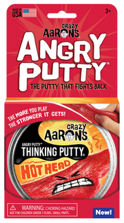 Hot Head - Crazy Aaron's Angry Putty