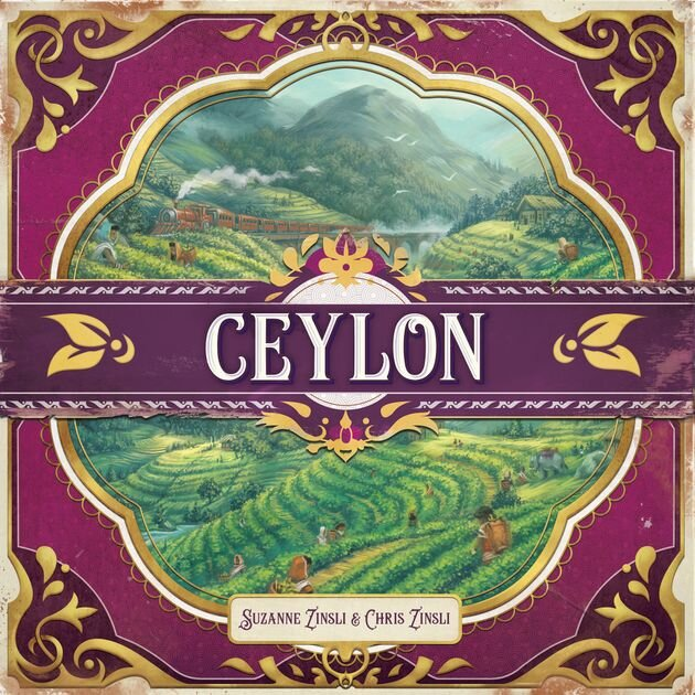 Ceylon board game