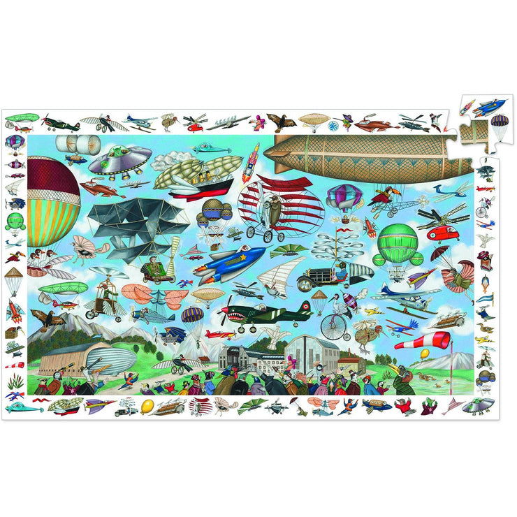 Aero Club Puzzle Observation + Poster - 200 pieces