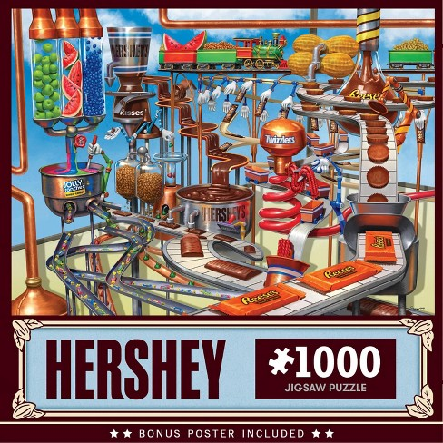 Hershey - 1000 pieces