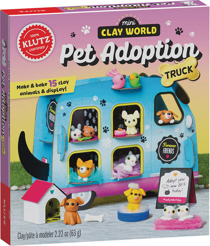 Clay World - Pet Adoption Truck by Klutz