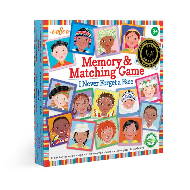 I Never Forget A Face - Memory & Matching Game