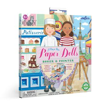 A Day in Paris Paper Dolls - Baker & Painter