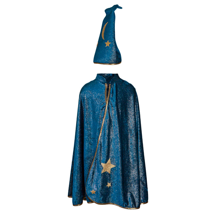 Starry Night Wizard Cape + Hat