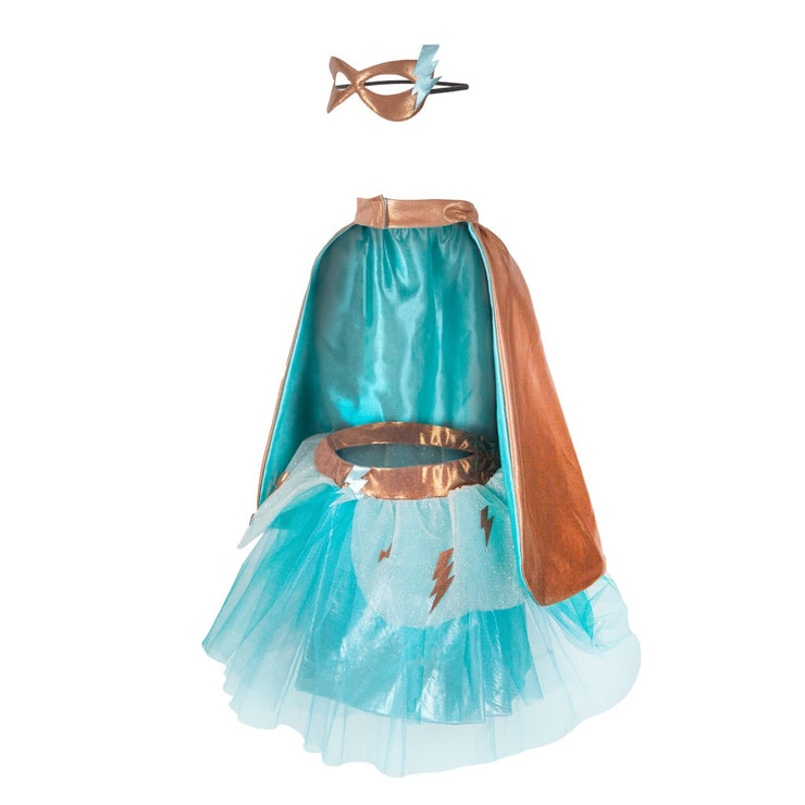 Superhero Tutu + Accessories - Teal