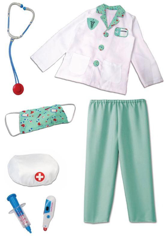 Doctor Scrubs + Accessories