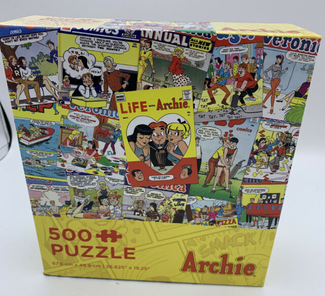 Archie Covers, 500 piece puzzle