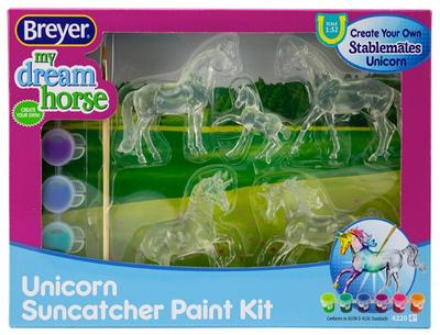 Unicorn Suncatcher Paint Kit