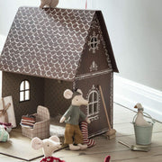 Gingerbread House with Holiday Accessories