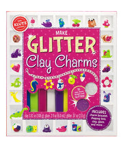 Make Glitter Clay Charms by Klutz