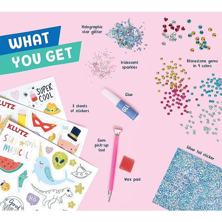 Make your own Gem Stickers by Klutz