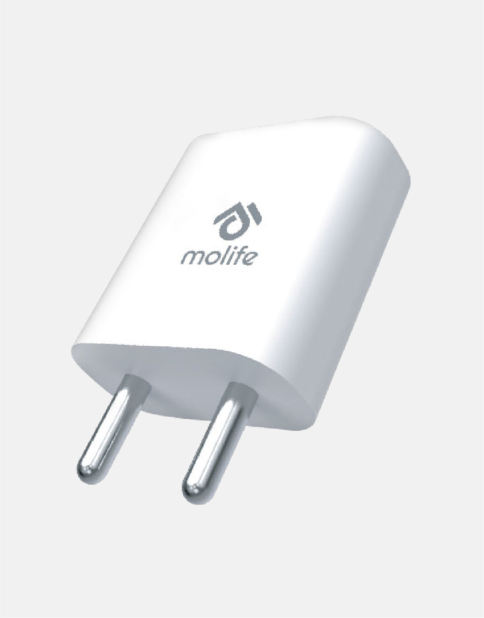 Molife Beacon S1  Fast Charger Compatible for Android Smartphones, Other Devices, Power Adaptor, Wall Charger, Sleek, Compact